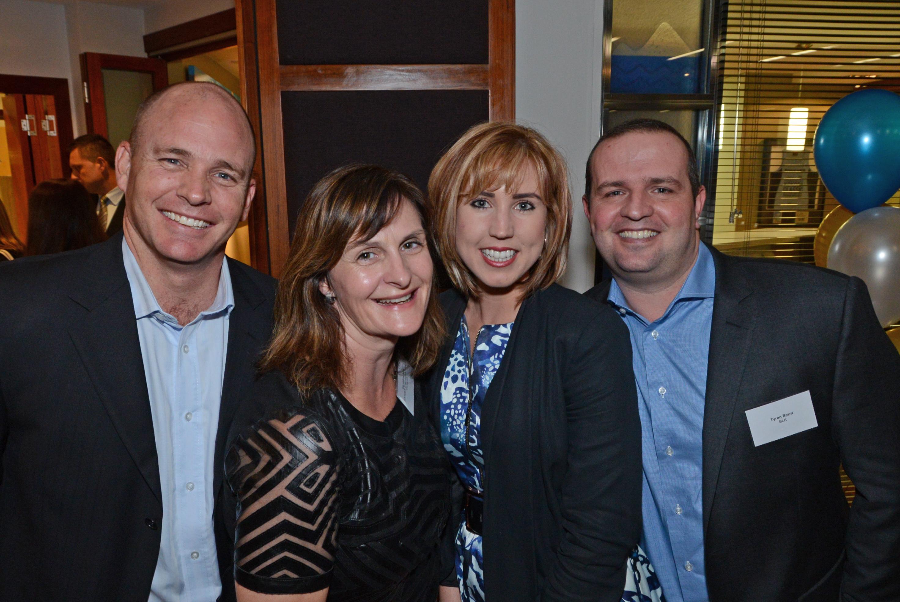 Michael Robinson, Geraldine Nutt, Georgia Merrett, Tyron Brant
