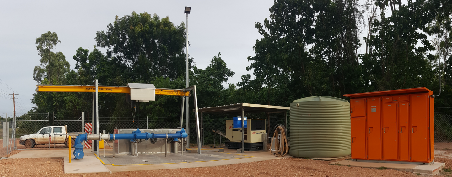 Weipa Pump Station Upgrades