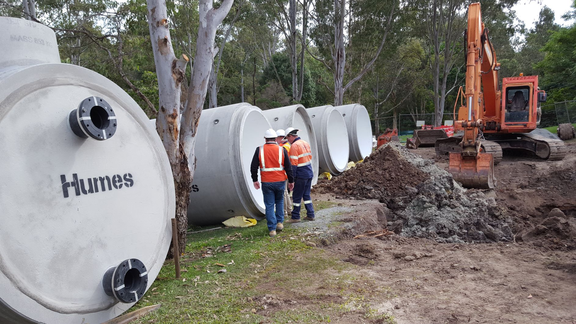 Gold Coast Water Emergency Storages