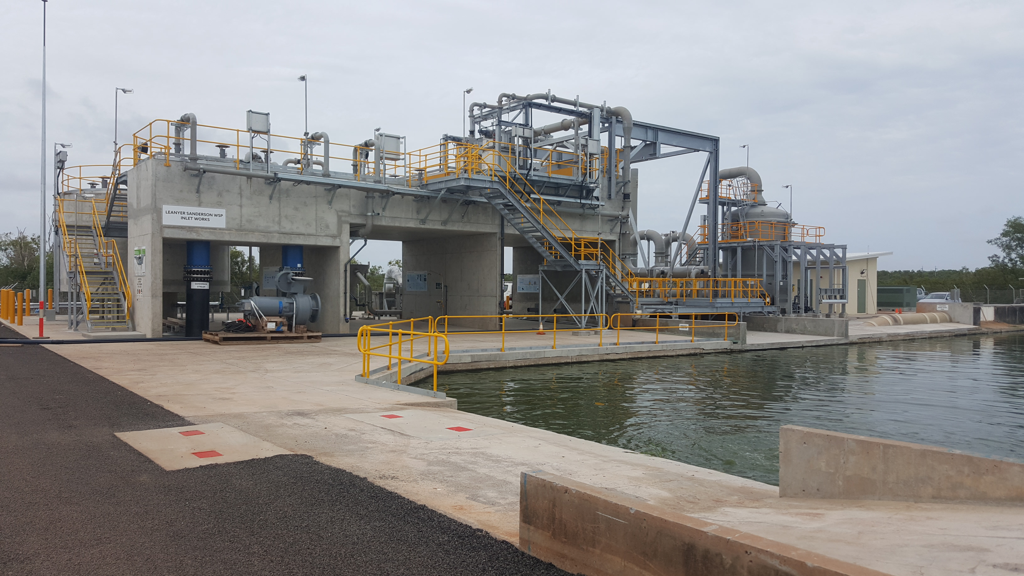 Darwin Inlet Works and Odour Control
