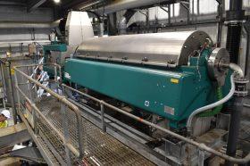Oxley Creek Centrifuge Upgrade