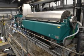Oxley Creek Centrifuge Running