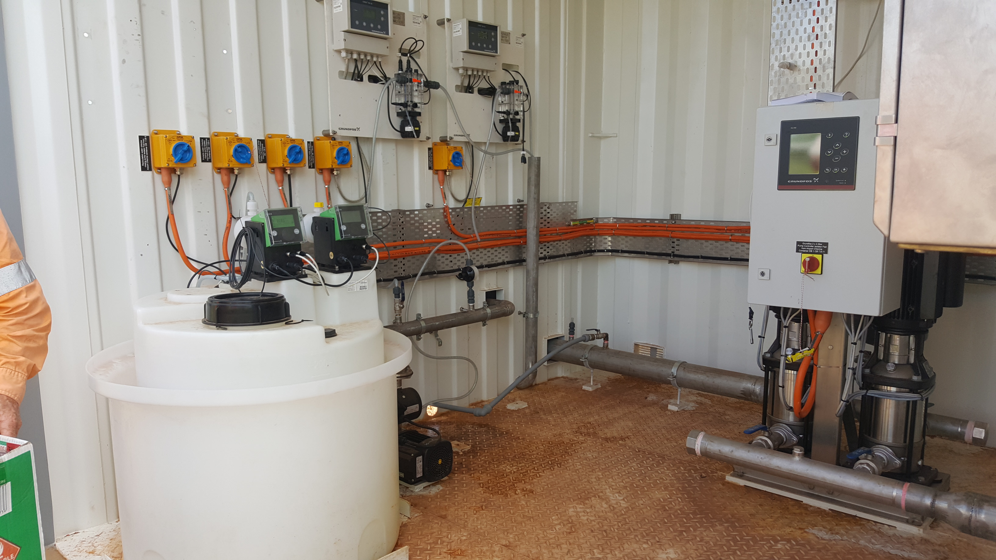Town Water Disinfection Upgrades -
