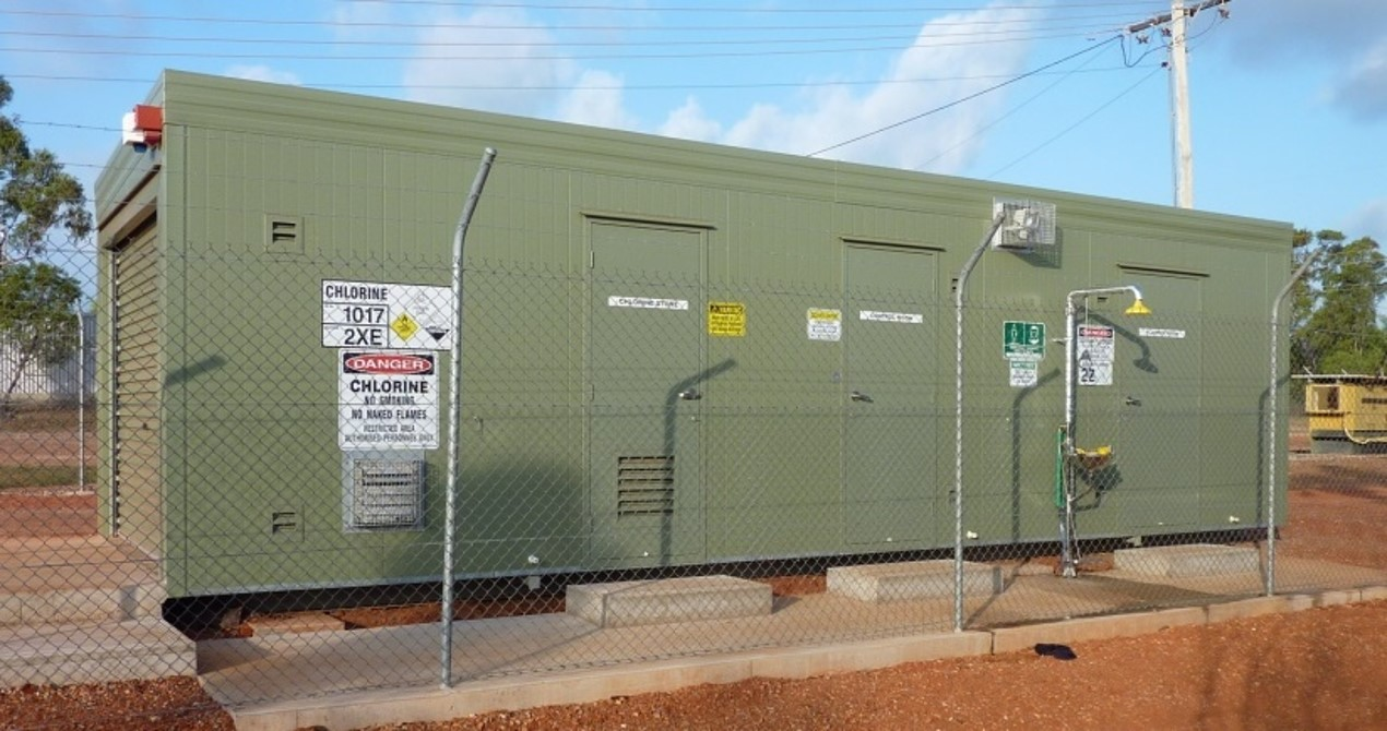 Nhulunbuy (Gove) Water Supply Chlorination Upgrade