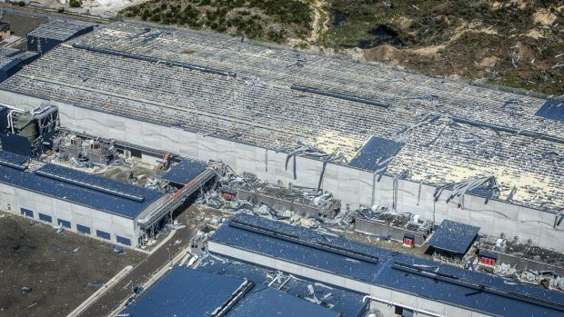 Sydney Desalination Plant Storm Recovery