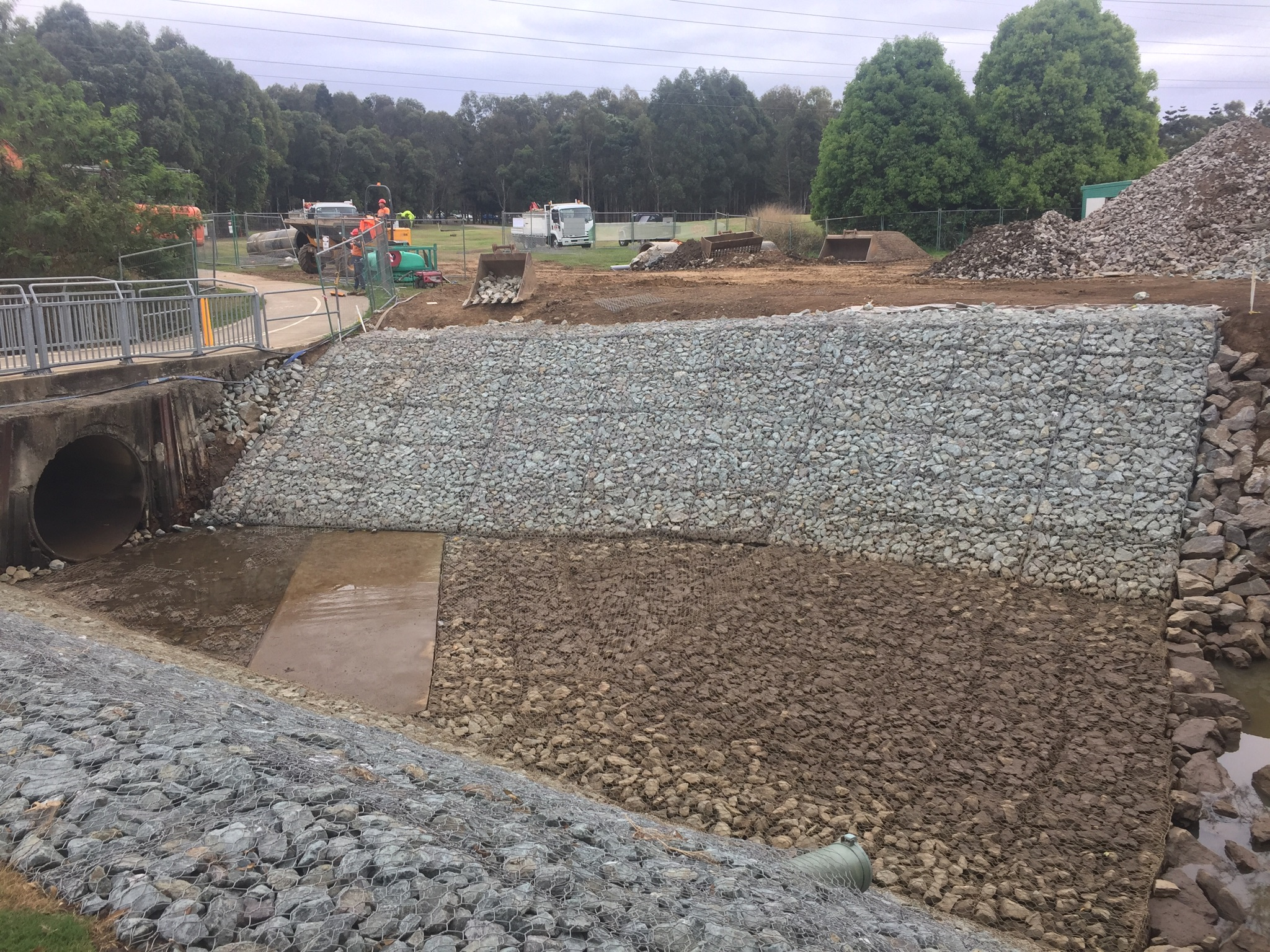 Pine Rivers Slope Stabilisation and Pipe Refurbishment
