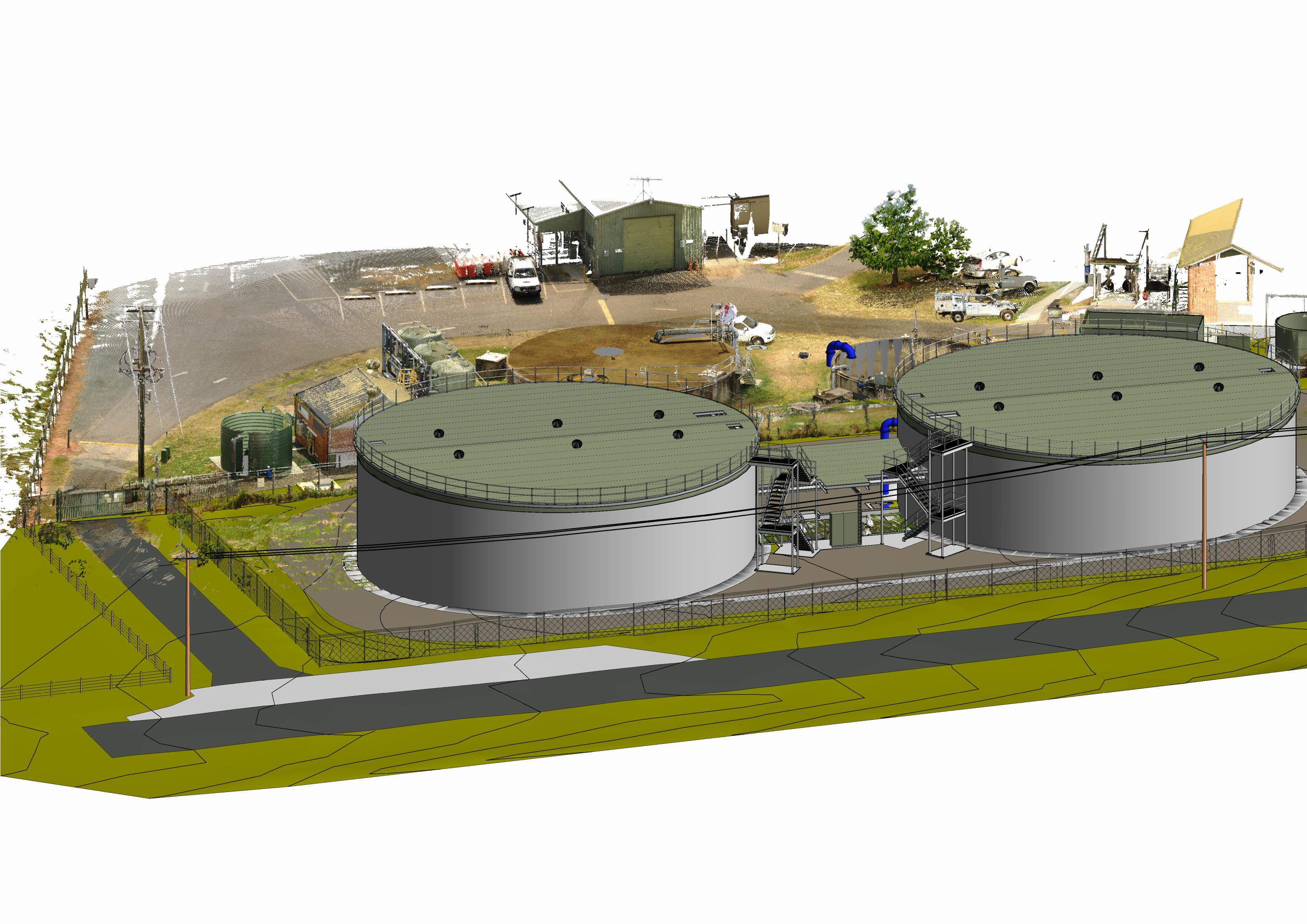 Beaudesert WTP Water Storages