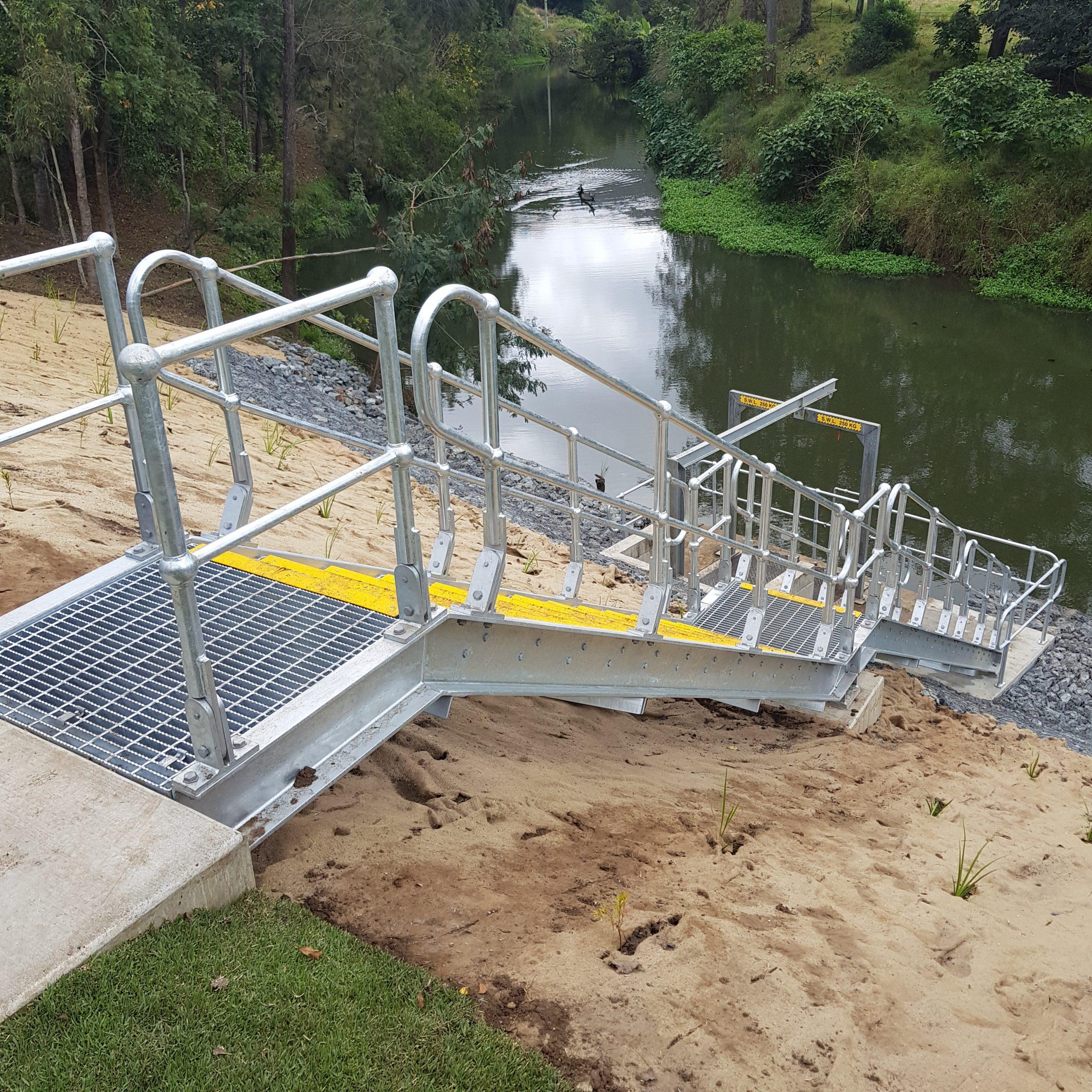 Canungra Raw Water Intake Pump Station